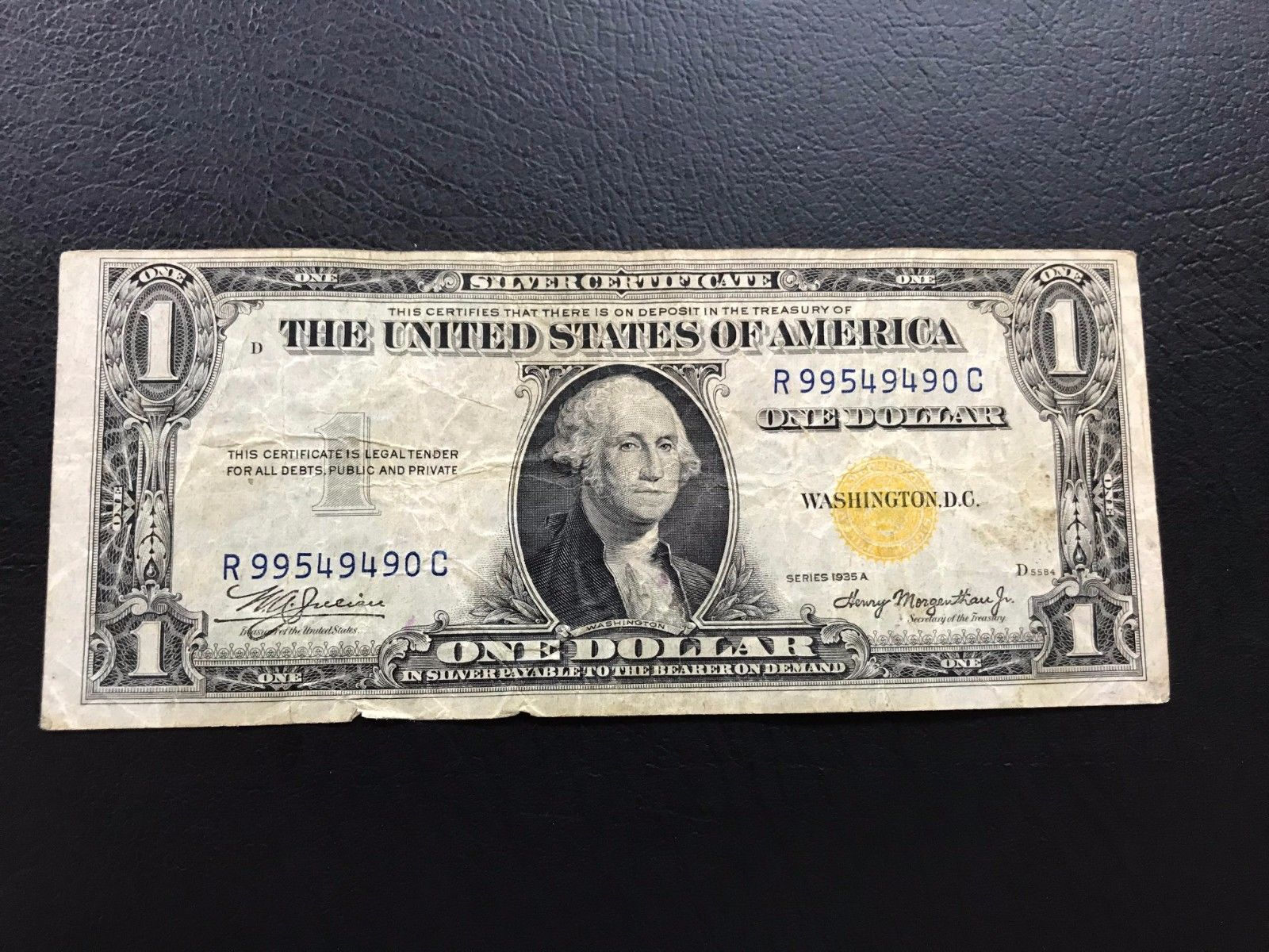 1935 a one dollar 1 yellow seal north african silver certificate 1935 a one dollar 1 yellow seal north african silver certificate 1betcityfo Images
