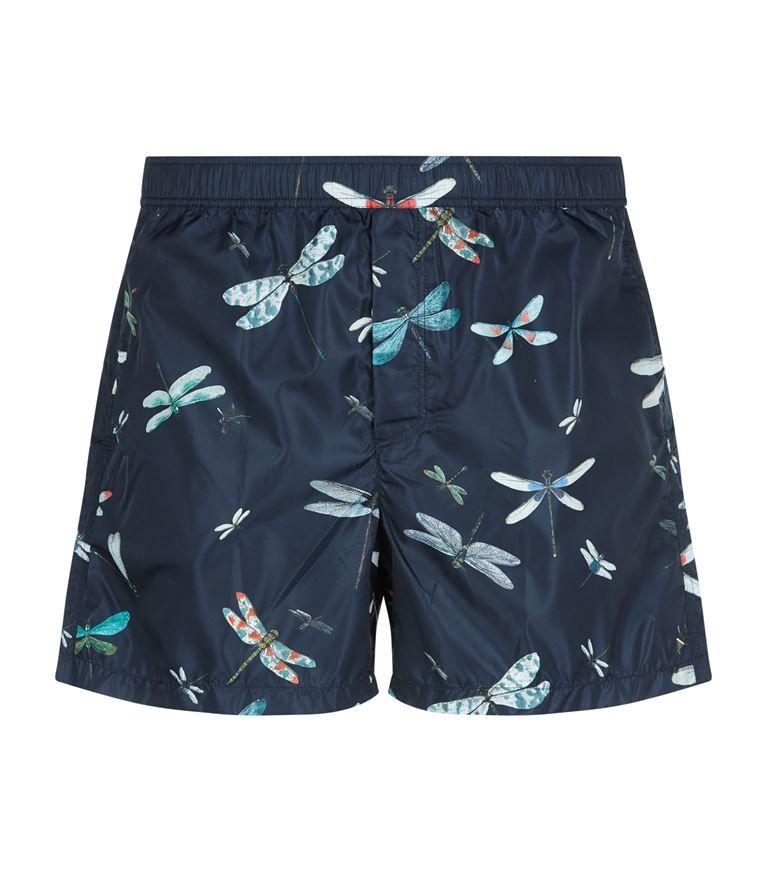1a63fc6693 VALENTINO Dragonfly Swim Shorts. #valentino #cloth # Valentino Men, Swim  Shorts,