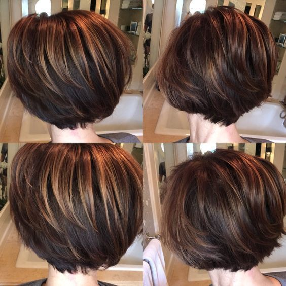 27+ Cute Stacked Bob Haircuts and Hairstyles for Women 2018 | Short ...