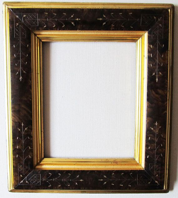 Eastlake Antique Frame C 1880 Watergilded By Transferoftreasures 185 00 Antique Frames Vintage Picture Frames Eastlake