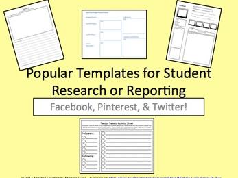 Popular Social Media Template Research Report Tools  Edworld