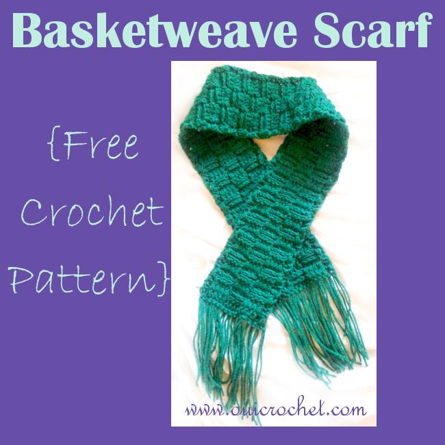 Basket Weave Scarf {Free Crochet Pattern} | Frozen Fibers | Pinterest