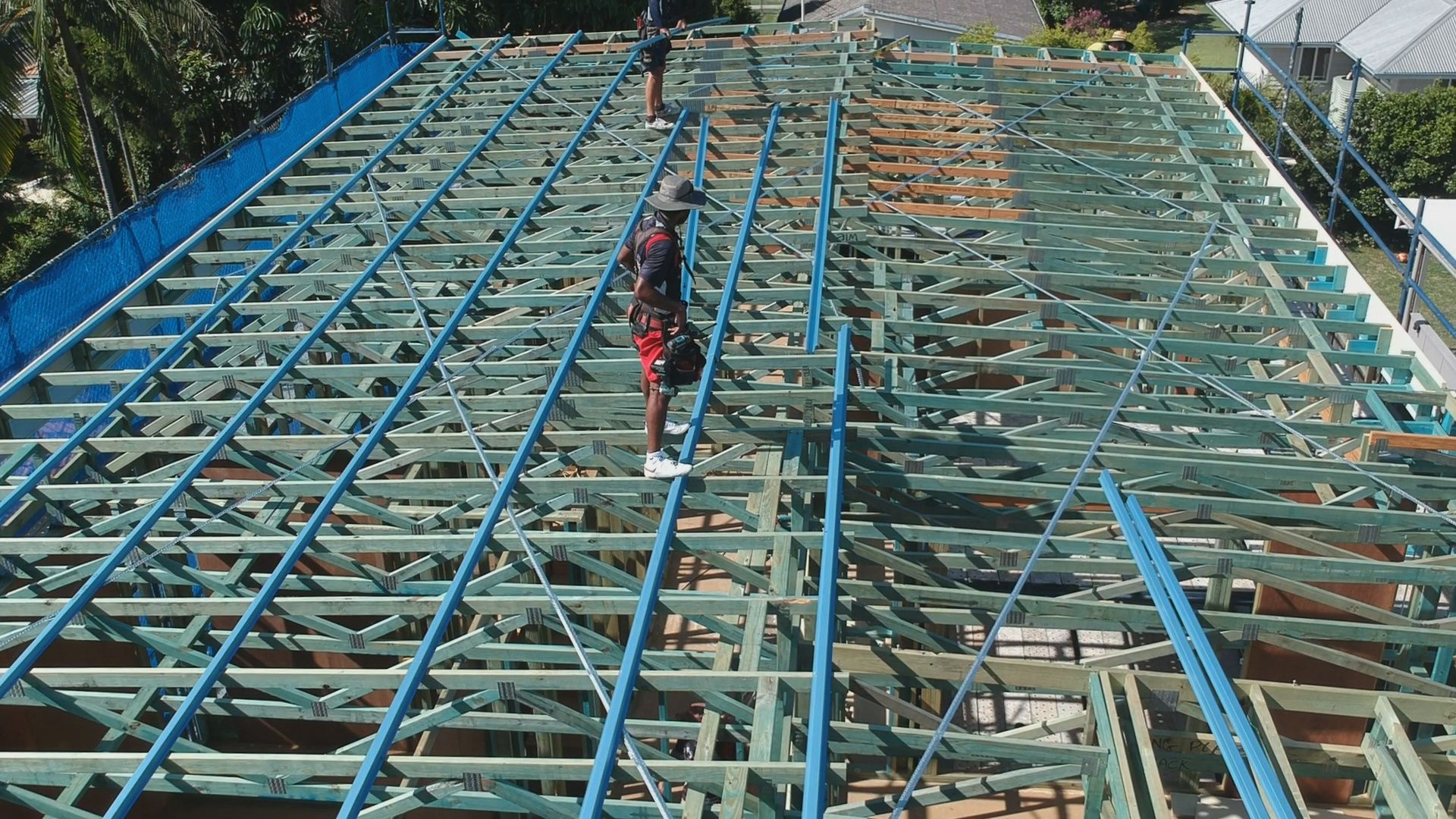 When Construct Right Builders From Brisbane Called Us And Said That They Wanted Us To Complete A Metal Roof Installation I Roof Installation Metal Roof Roofing