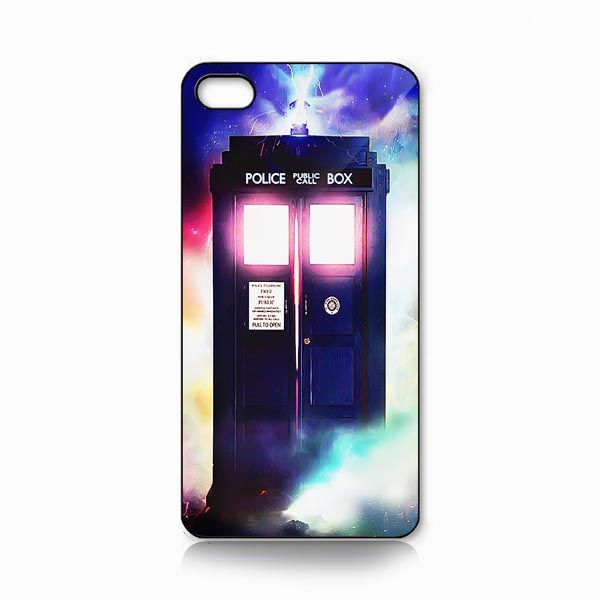 Doctor Who Glowing tardis iphone case