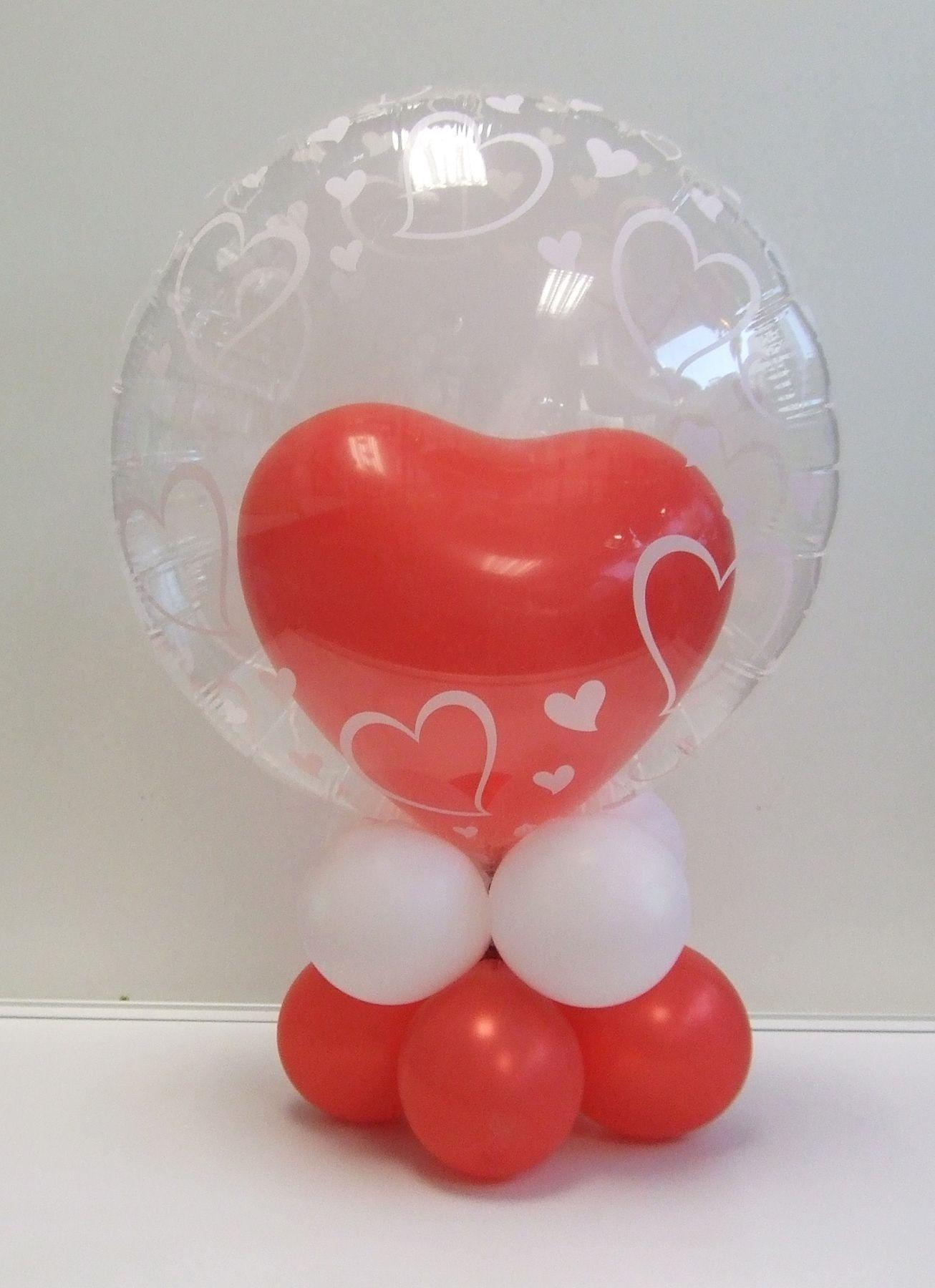 Nettes Ballon Geschenk Zum Valentinstag Valentinstag Pinterest