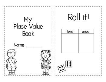 This is a book your students will create after they have learned about place value (ones & tens). They will represent a number multiple ways. An example book has been included. You will also find a Roll, Create, & Expand dice printable.  Enjoy!