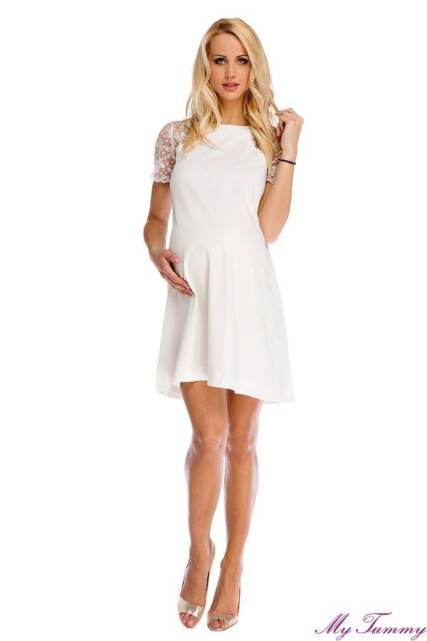 Elegante vestito premaman Julia per le occasioni speciali. - abito A- forma  - vestito 4d4905e1205