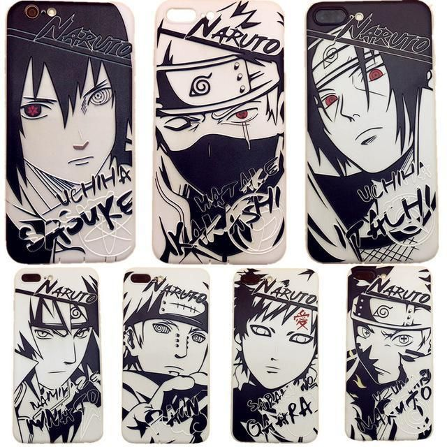 coque lumineuse iphone xr naruto