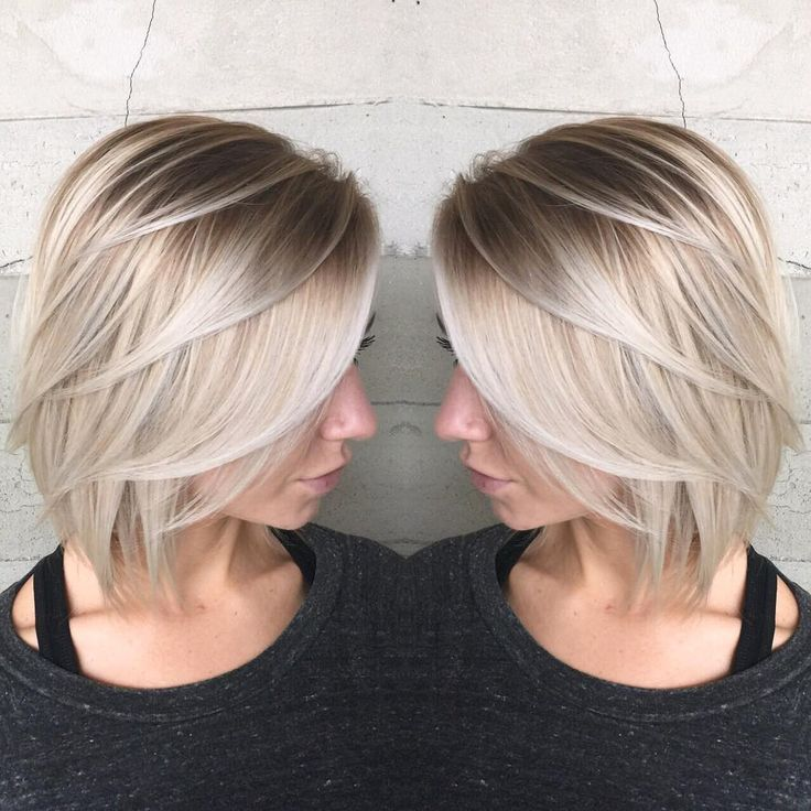 Bildresultat För Blonde Colouring Short Hair
