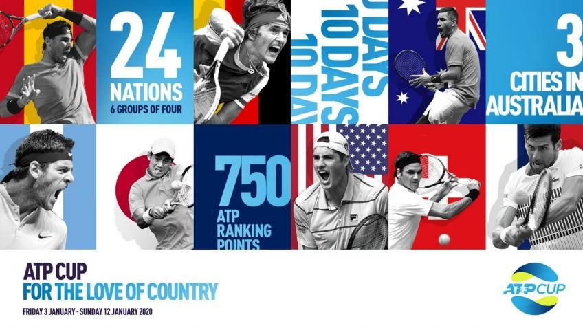 Announced Two Of The Three Cities Set To Host Atp Cup In 2020 Team Events Atp Tennis Tennis Australia
