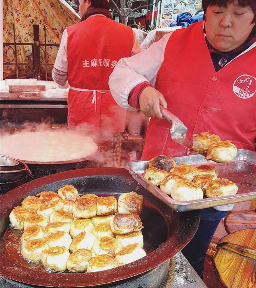 Shanghai Muslim Food Market Chinese Street Food Food Shanghai Travel