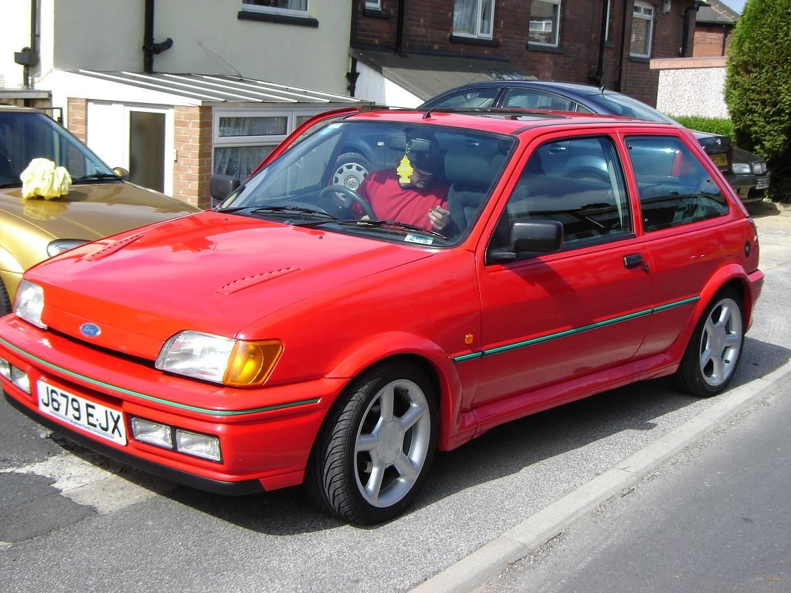 1991 Ford Fiesta Rs Turbo Third Generation 1989 1997 Ford