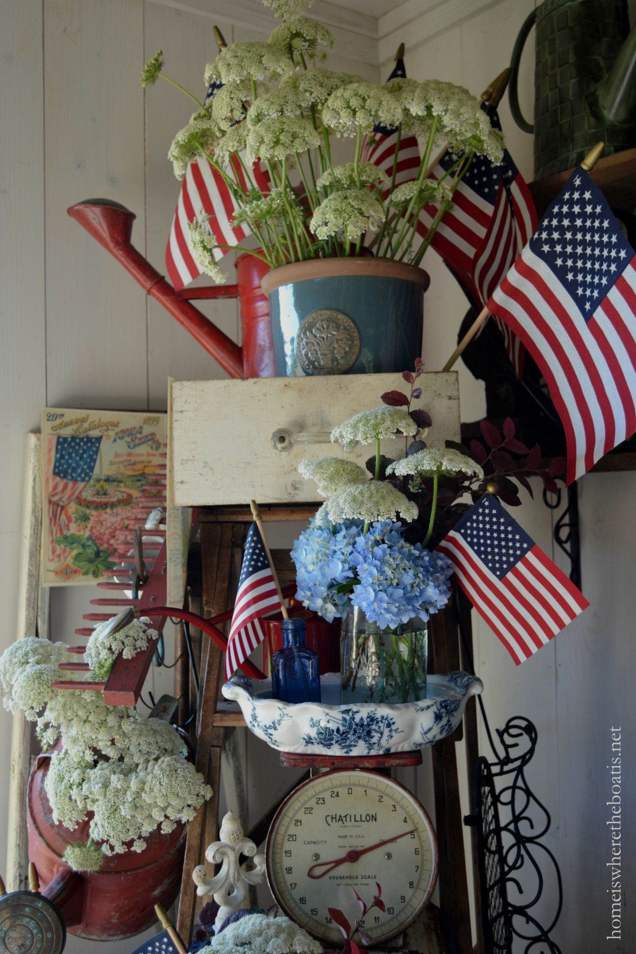 Chalking It Up To Celebrate The Red White And Bloom Country