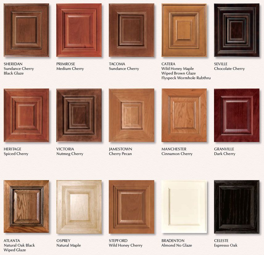 Arlington In Espresso Cherry Kitchen Cabinets Color Selection - Cherry vs maple kitchen cabinets
