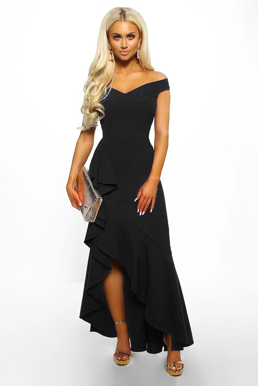 plus size off the shoulder maxi dress formal dresses & gowns