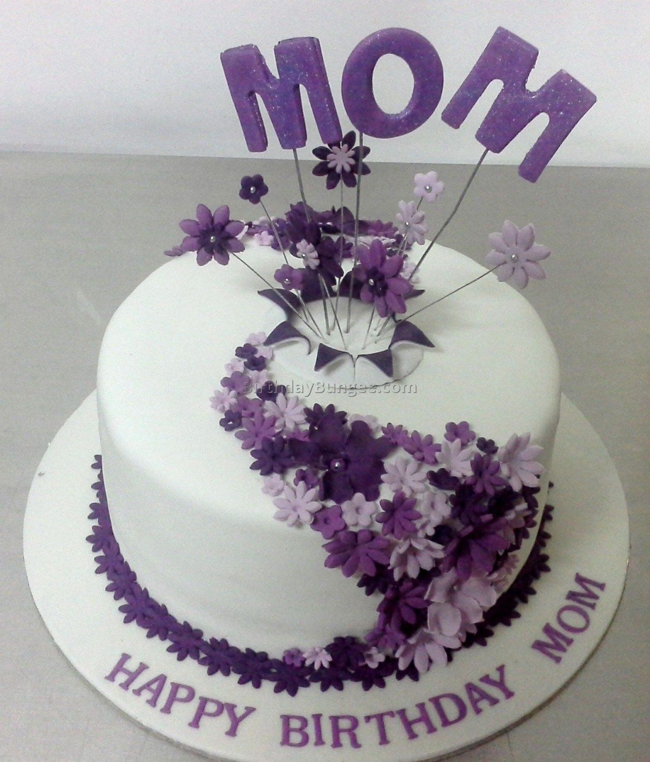 Sensational Mom Birthday Cakes Motherdaughter Birthday Cake Cute Ideas Debs My Personalised Birthday Cards Bromeletsinfo