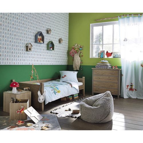 lit cabane enfant 90x190 lit cabane maison du monde et lits. Black Bedroom Furniture Sets. Home Design Ideas