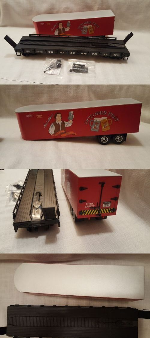Freight Cars 122580: Usa Piggyback Flatcar Sam Adams R17026 -> BUY ...