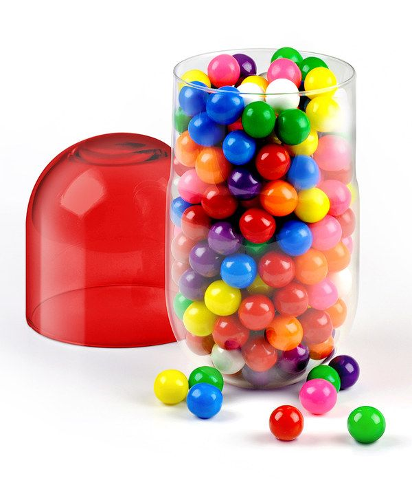 Capsule candy dish