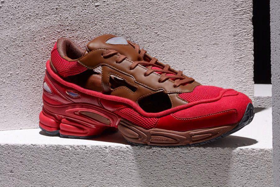 d6769ff5c Raf Simons x adidas Ozweego Replicant (B22513 Scarlet Red Dust Rust ...
