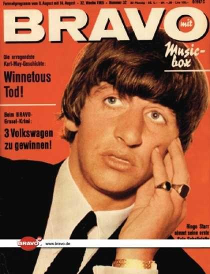 Bravo - 32/65, 03.08.1965 - Ringo Starr (Beatles)