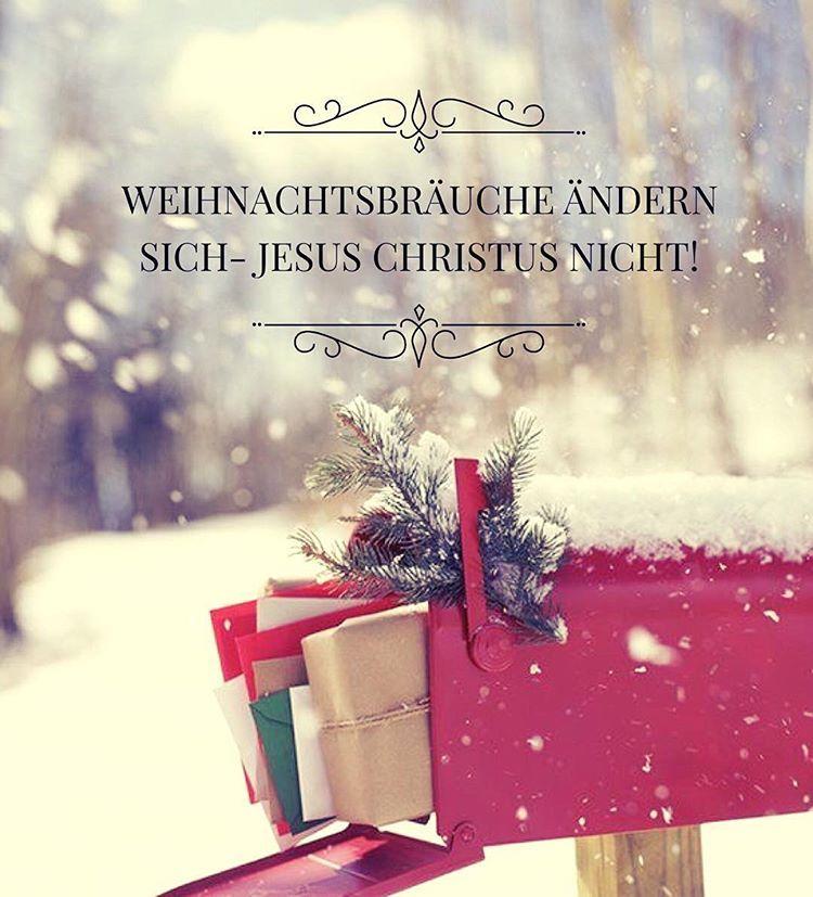 """Bibel Schatzkammer� on Instagram: """"Weihnachtsbräuche ändern sich - J E S U S C H R I S T U S nicht!��️�� #5 #Dezember #19Tage #dann #ist #Heiligabend"""""""