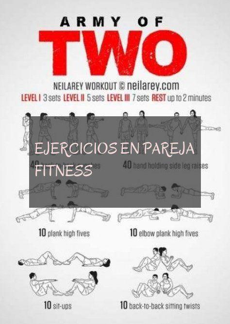 ejercicios en pareja fitness #ejercicios #pareja #fitness
