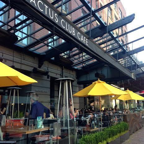 Best Patios In Yaletown Vancouver