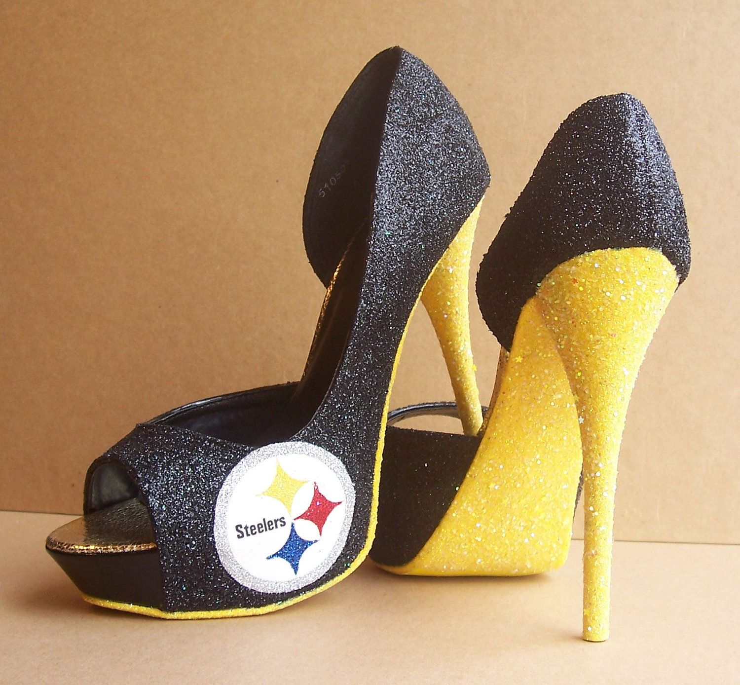 78e778243c2 Pittsburgh Steelers High Heels by TattooedMary on Etsy