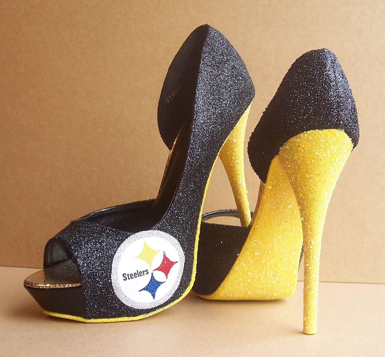Steeler Shoes Heels