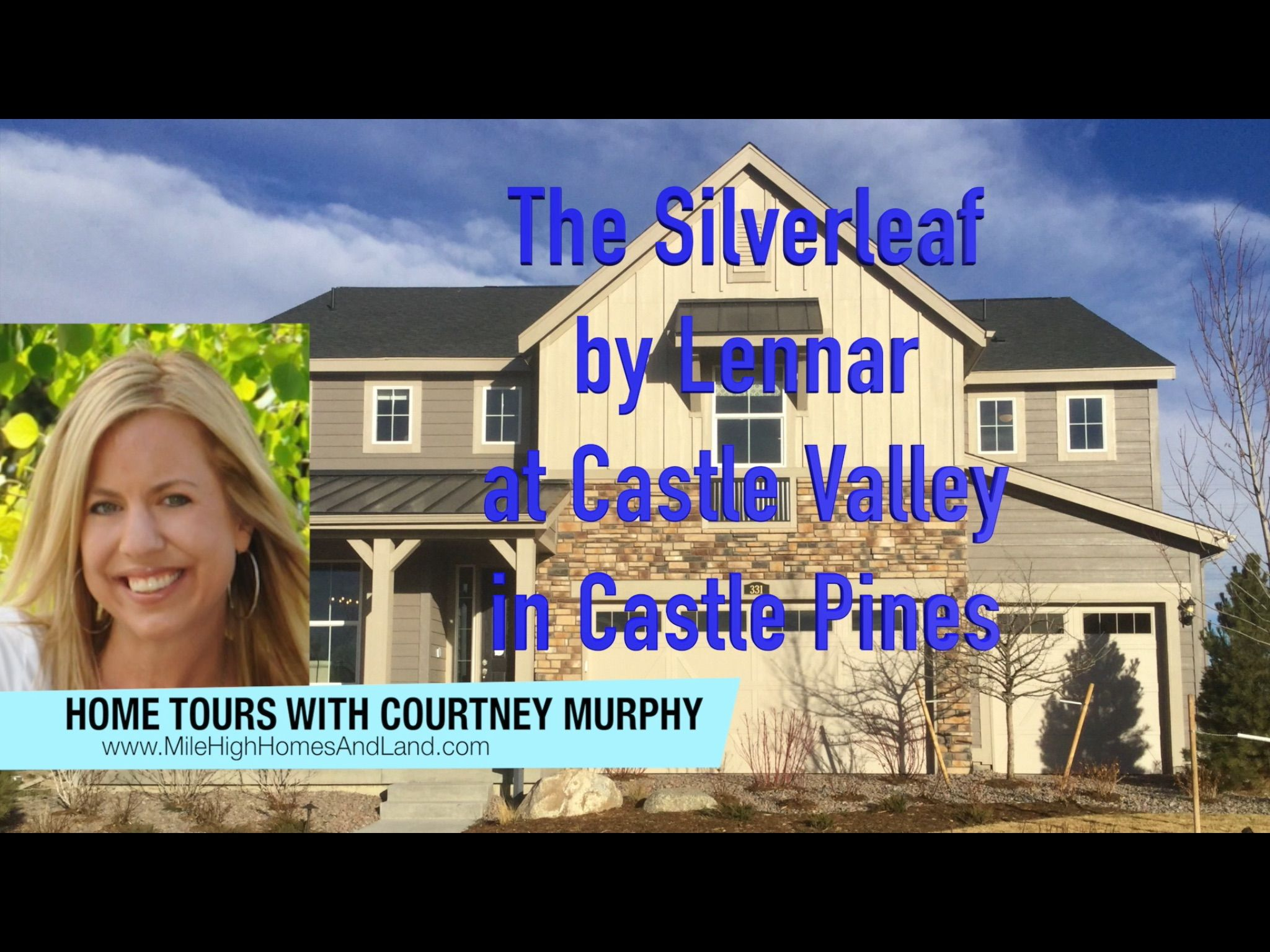 The Silverleaf model by Lennar at Castle Valley in Castle ...