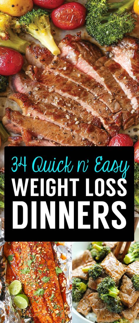 34 Super Easy Weight Loss Dinners You'll Be Able To Cook After Work is part of Weight loss dinner recipes - After a long day at work, it's important to have a stocked kitchen and a staple of delicious, quick and easy recipes that you can throw together, that will fit your diet needs and won't have you spending hours on your feet  It's not just the preperation and the cooking, it's the clearing up the …