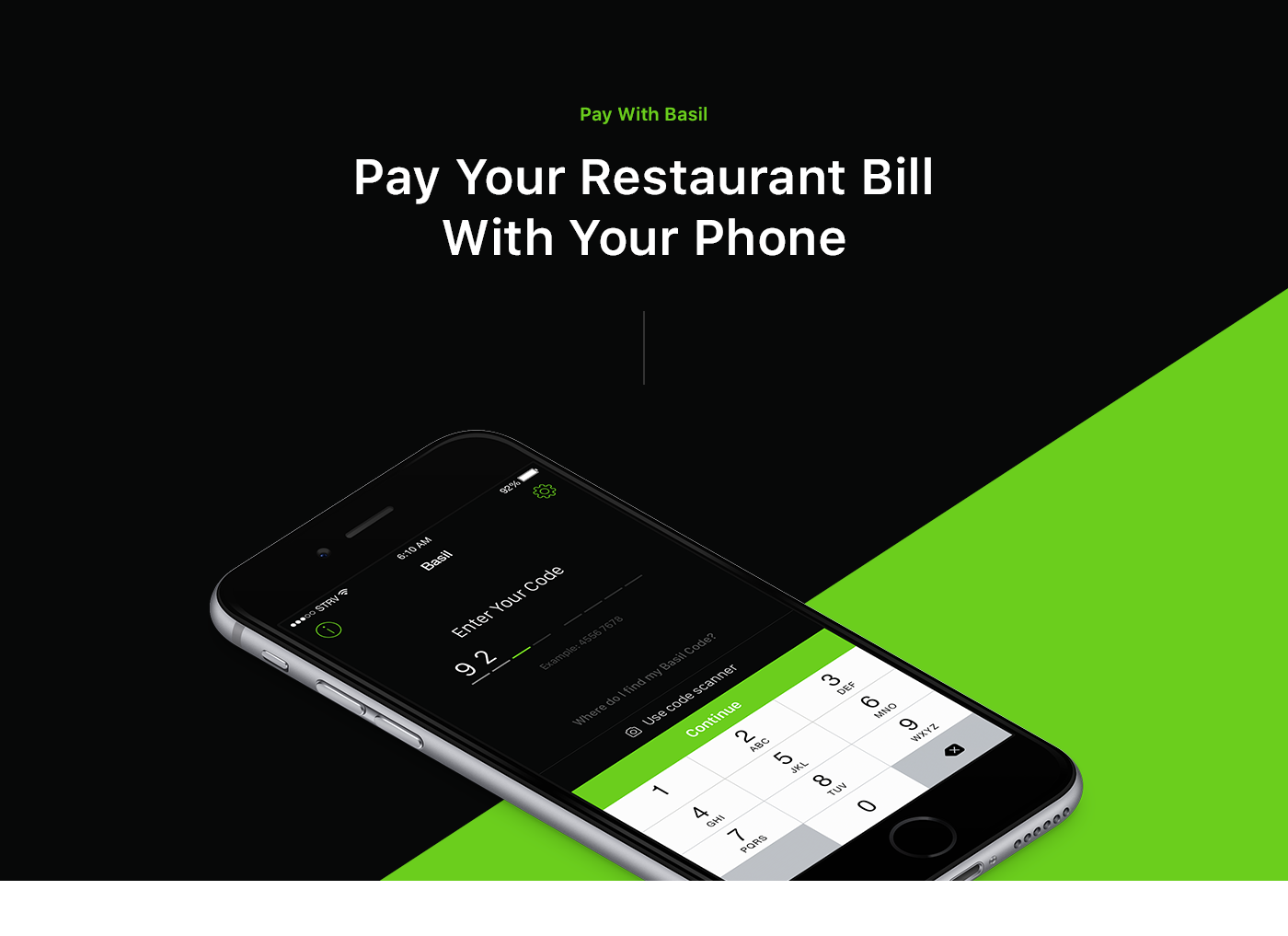 Pay With Basil on Behance