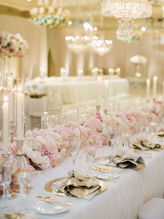 Pink And Gold Wedding Ideas For Your Ceremony Amp Reception