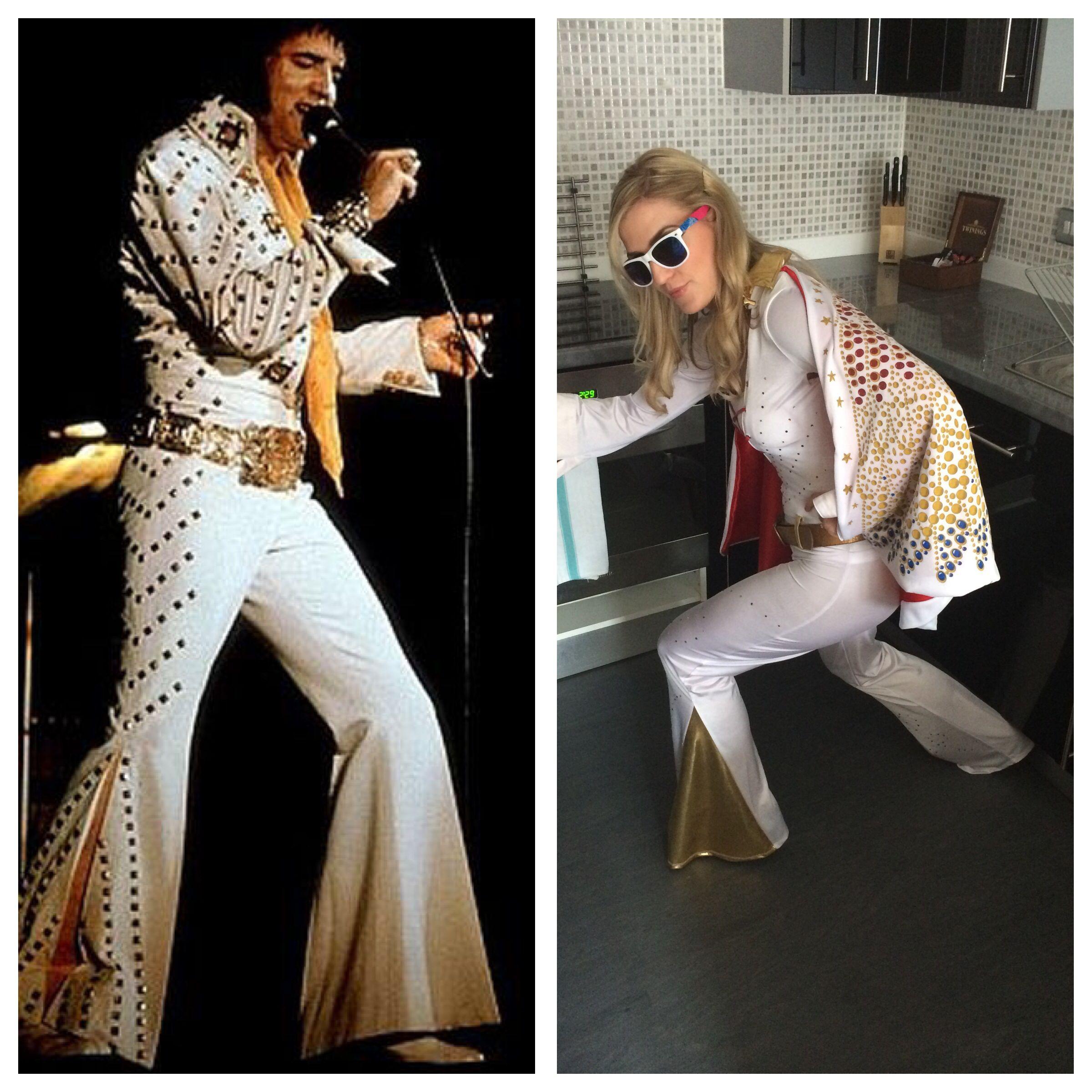 Vegas Themed Hen Party. Elvis Costumes For Girls. Hen