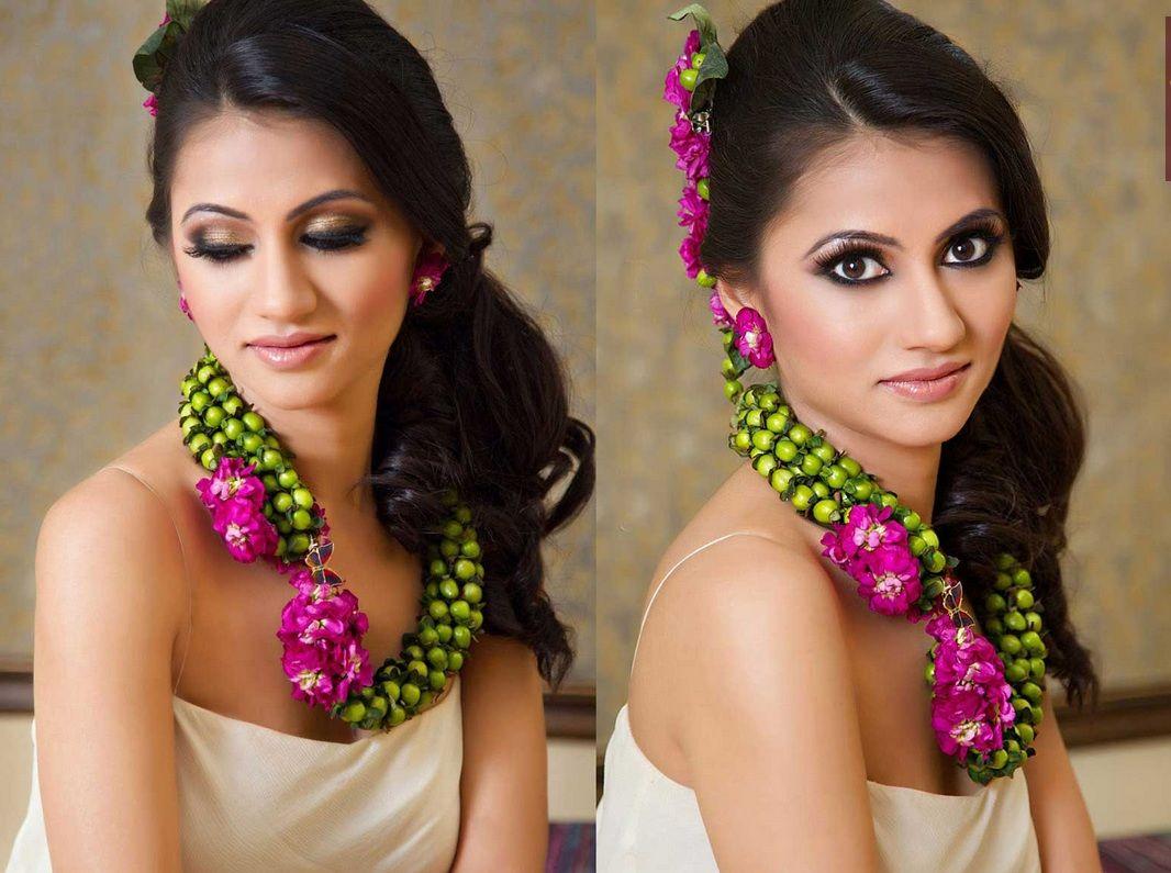 Fusion Bollywood Calgary Wedding Blog Flower Garlands Floral Jewellery