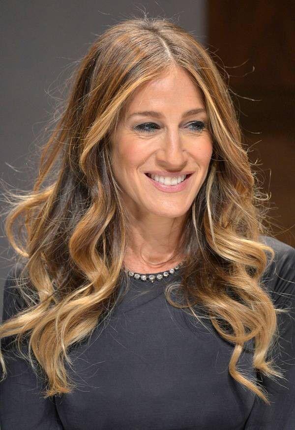 sarah jessica parker blonde haare