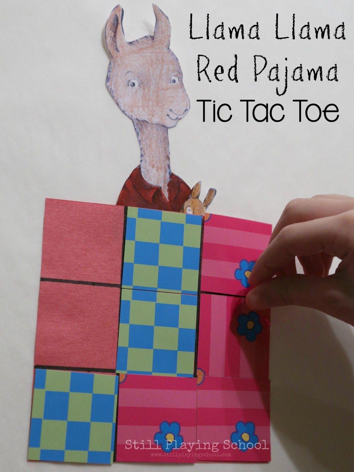 412e6ce093 Still Playing School  Llama Llama Red Pajama Busy Bag
