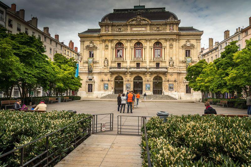 Voyage Lyon Theatre Des Celestins A Lyon Lyon Hotel Dieu Visite
