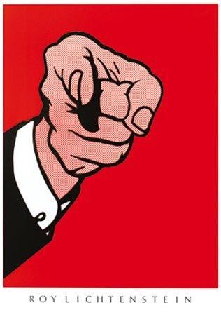 Hey You! - Roy Lichtenstein