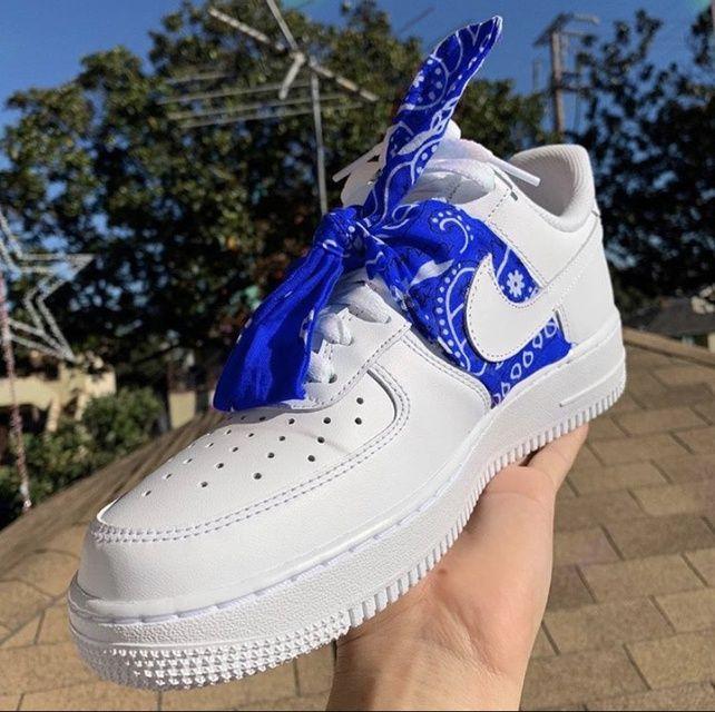 air force 1 bandana scarpe