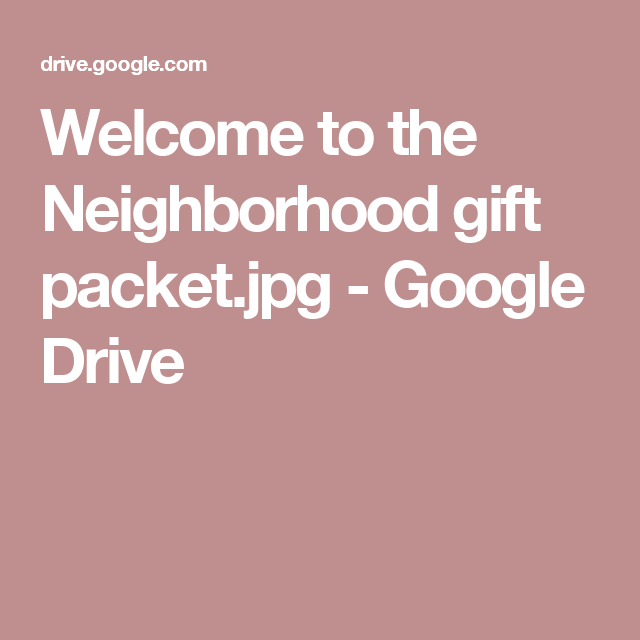 Welcome to the neighborhood gift packetg google drive welcome to the neighborhood gift packetg google drive negle Choice Image