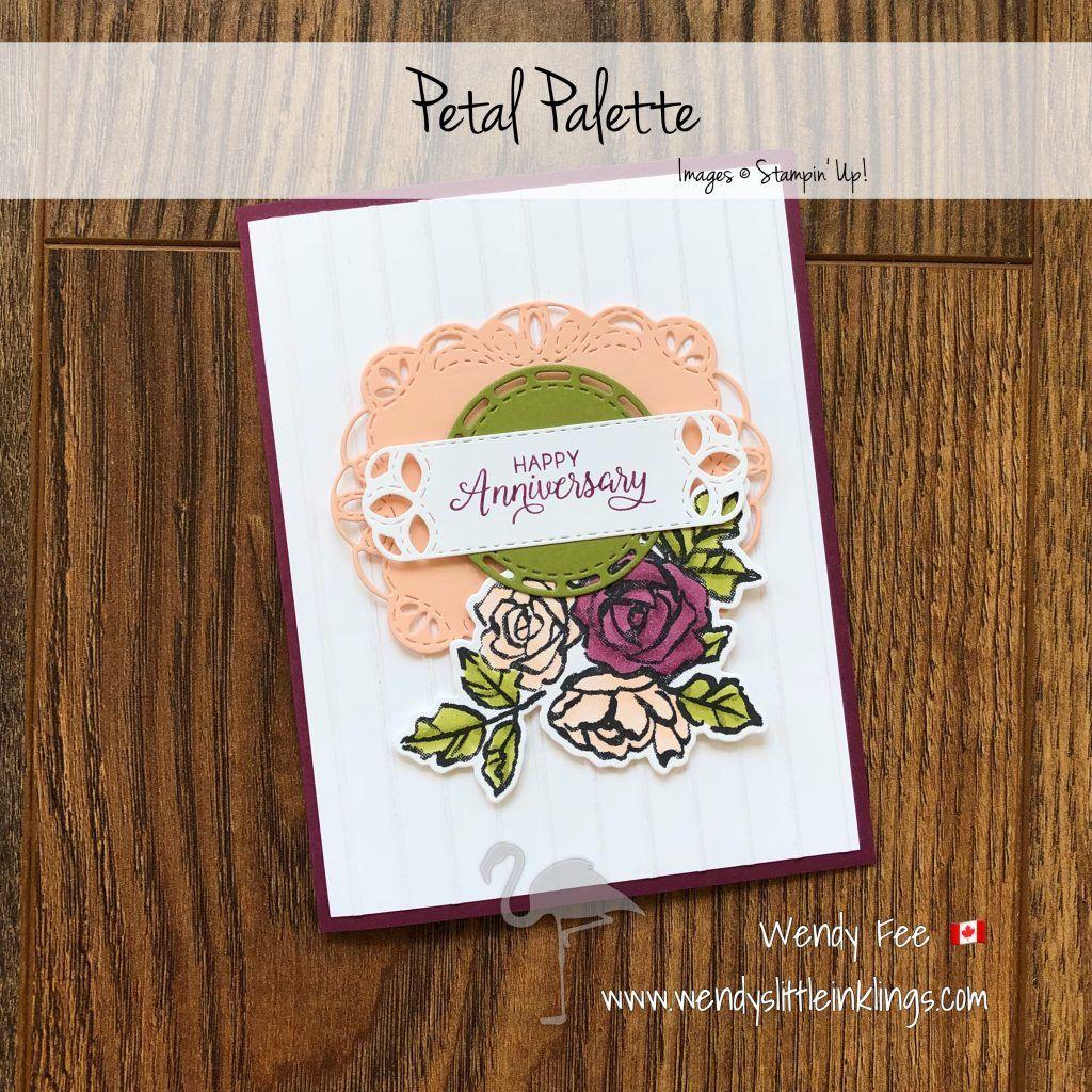 Petal palette anniversary card wendys little inklings