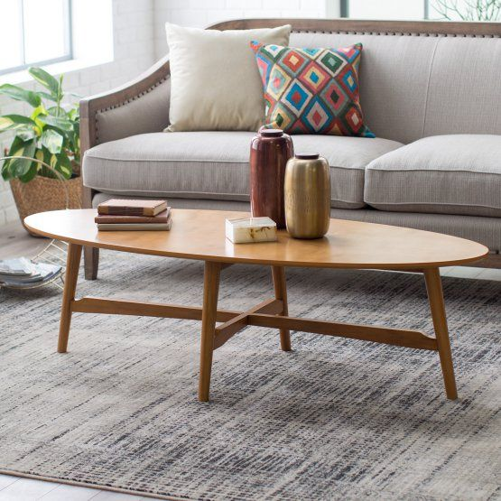 Peachy Belham Living Darby Mid Century Modern Coffee Table Pecan Gamerscity Chair Design For Home Gamerscityorg