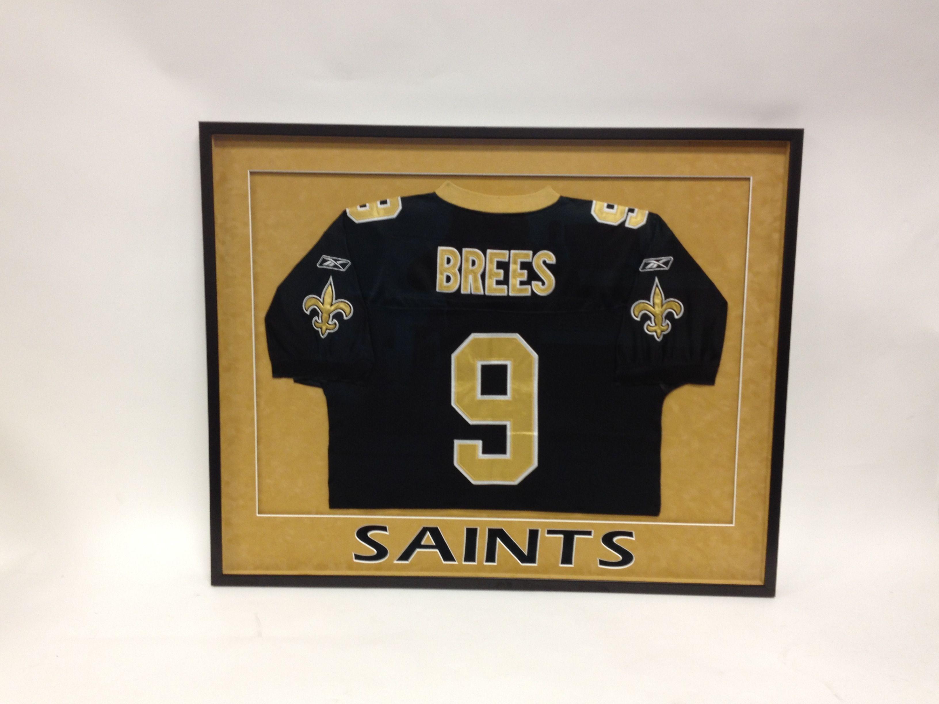 Wholesale Custom Framed New Orleans Saints Drew Brees Jersey. | Custom Framed  for sale