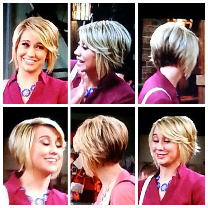 35 short stacked bob hairstyles pinterest cheveux for Chelsea kane coupe de cheveux