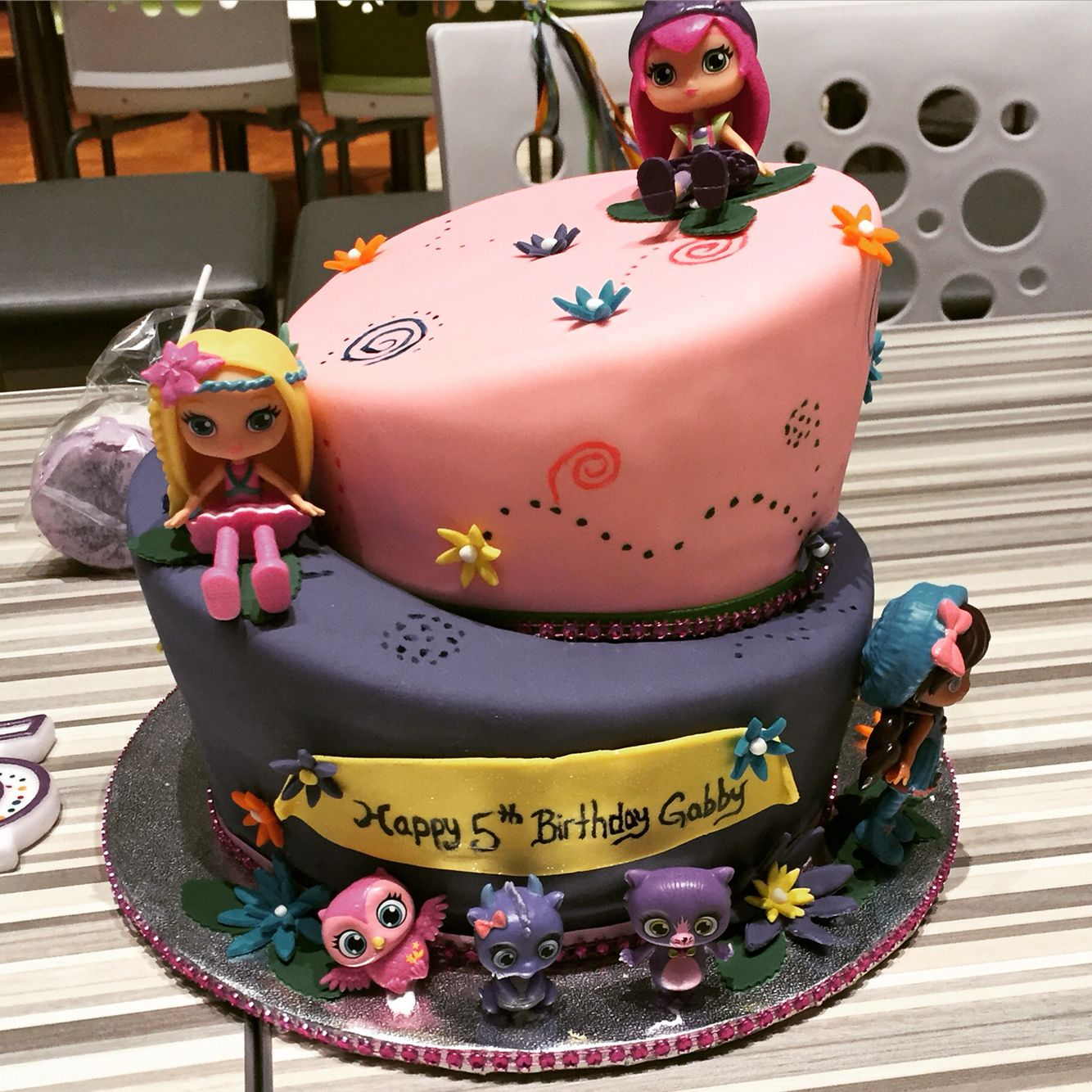 Little Charmers Cake Little Charmers Happy 5th Birthday Cake
