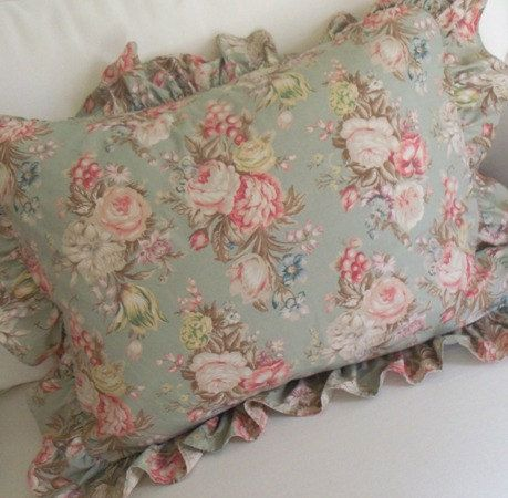 Vintage Ralph Lauren Pillow Shams Ruffled By