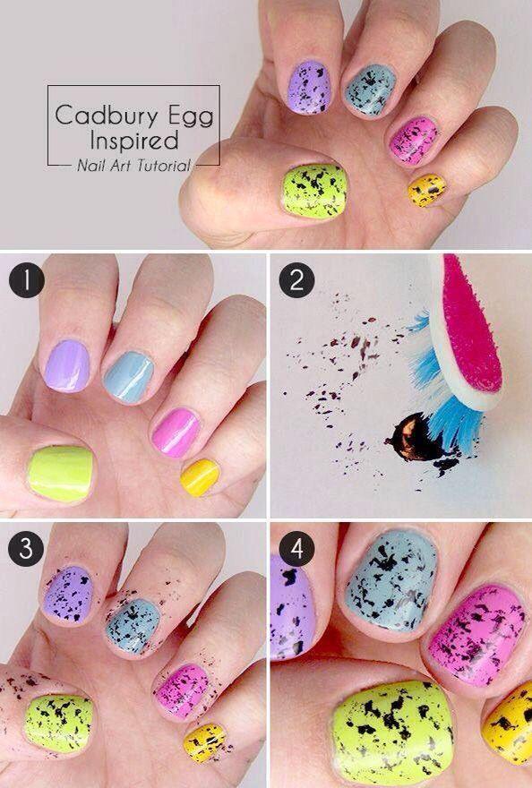 Decoracion de uñas diseños hermosos diseños paso a paso