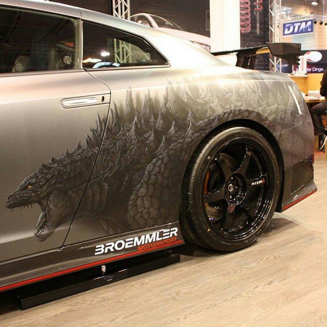 Son of Godzilla | Sweet Rides | Pinterest | Godzilla, Nissan and Cars